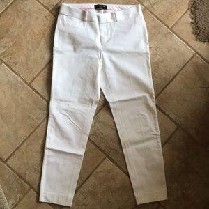White women's dress pants